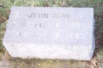 CONE, JOHN JR. - Linn County, Iowa | JOHN JR. CONE