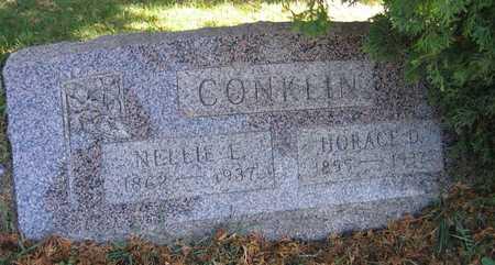 CONKLIN, NELLIE E. - Linn County, Iowa | NELLIE E. CONKLIN