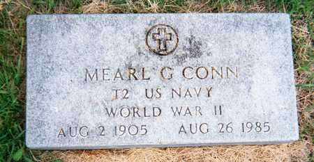 CONN, MEARL G. - Linn County, Iowa | MEARL G. CONN
