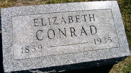 CONRAD, ELIZABETH - Linn County, Iowa | ELIZABETH CONRAD