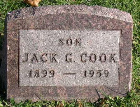 COOK, JACK G. - Linn County, Iowa | JACK G. COOK