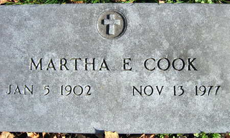 COOK, MARTHA E. - Linn County, Iowa | MARTHA E. COOK