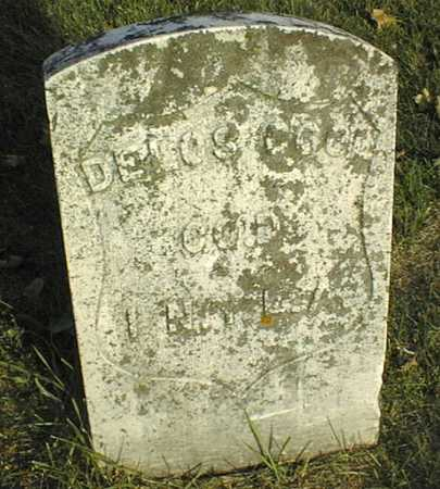 COOL, DELOS - Linn County, Iowa | DELOS COOL