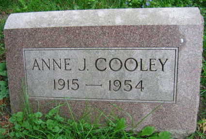 COOLEY, ANNE J. - Linn County, Iowa | ANNE J. COOLEY