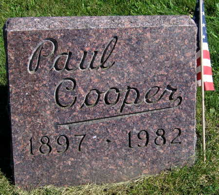 COOPER, PAUL - Linn County, Iowa | PAUL COOPER