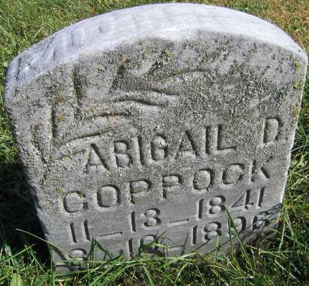 COPPOCK, ABIGAIL D. - Linn County, Iowa | ABIGAIL D. COPPOCK