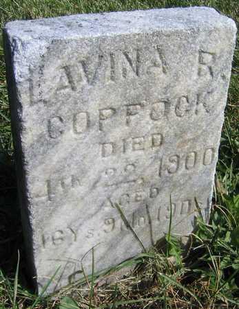 COPPOCK, LAVINA R. - Linn County, Iowa | LAVINA R. COPPOCK