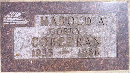 CORCORAN, HAROLD A.