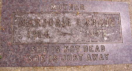 CRAIG, MARJORIE F. - Linn County, Iowa | MARJORIE F. CRAIG
