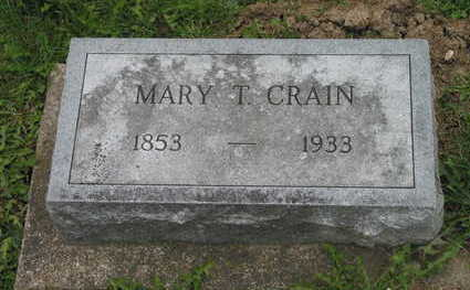 CRAIN, MARY - Linn County, Iowa | MARY CRAIN