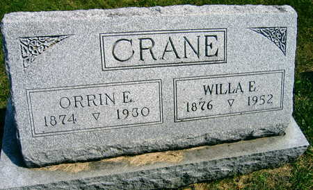 CRANE, WILLA E. - Linn County, Iowa | WILLA E. CRANE