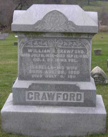 CRAWFORD, WILLIAM C. - Linn County, Iowa | WILLIAM C. CRAWFORD