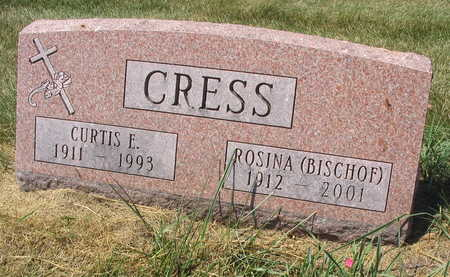 CRESS, CURTIS E. - Linn County, Iowa | CURTIS E. CRESS
