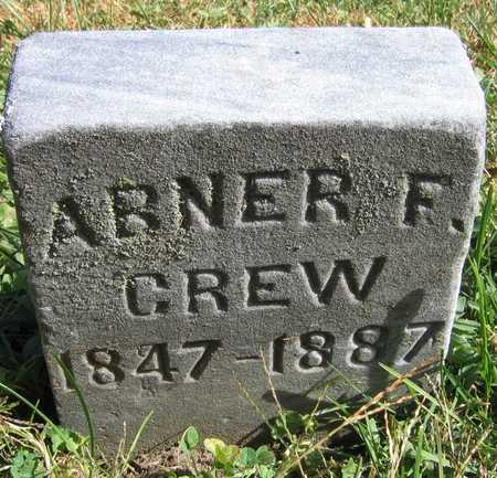 CREW, ABNER F. - Linn County, Iowa | ABNER F. CREW