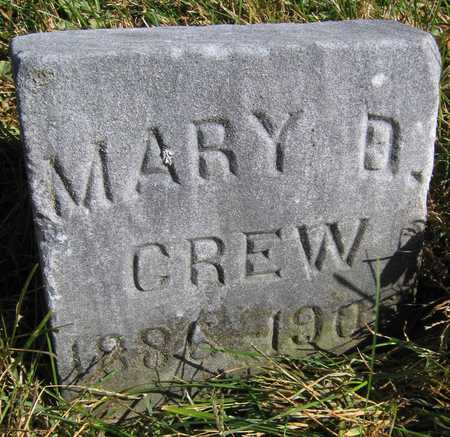 CREW, MARY D. - Linn County, Iowa | MARY D. CREW