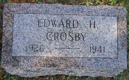 CROSBY, EDWARD H. - Linn County, Iowa | EDWARD H. CROSBY