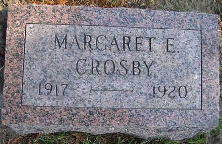 CROSBY, MARGARET E. - Linn County, Iowa | MARGARET E. CROSBY