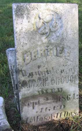 CROUCH, BERTIE E. - Linn County, Iowa | BERTIE E. CROUCH