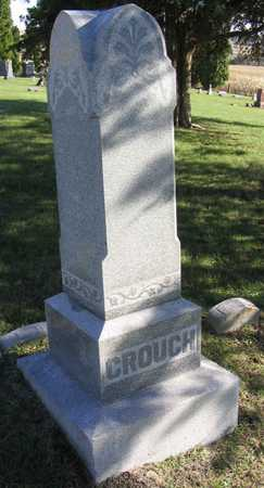 CROUCH, WILLARD W. - Linn County, Iowa   WILLARD W. CROUCH