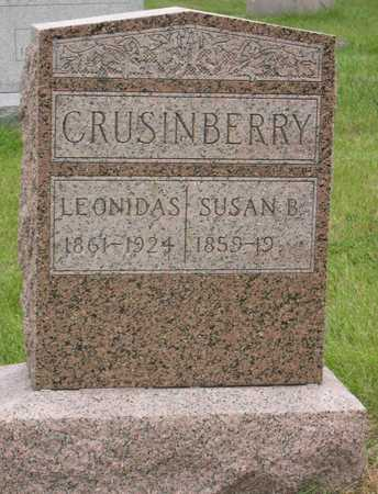CRUSINBERRY, SUSAN B. - Linn County, Iowa | SUSAN B. CRUSINBERRY