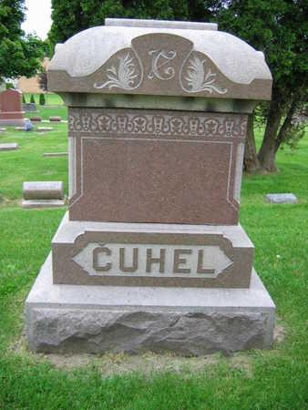 CUHEL, FAMILY STONE - Linn County, Iowa | FAMILY STONE CUHEL