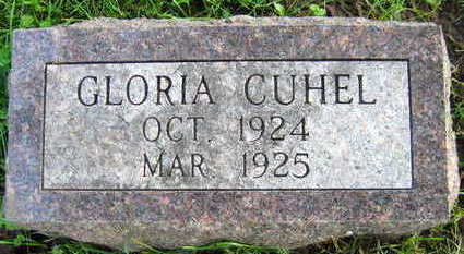 CUHEL, GLORIA - Linn County, Iowa | GLORIA CUHEL