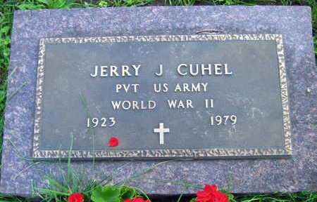 CUHEL, JERRY J. - Linn County, Iowa | JERRY J. CUHEL