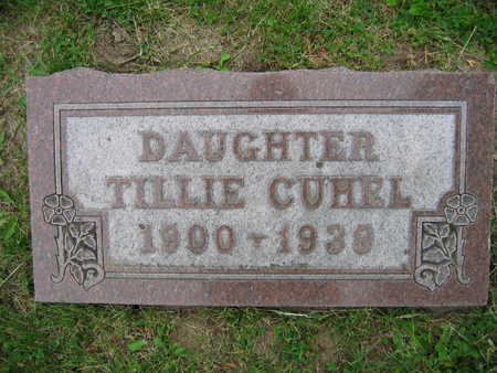 CUHEL, TILLIE - Linn County, Iowa | TILLIE CUHEL