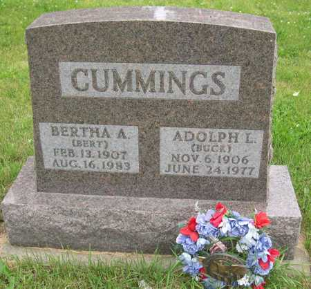 CUMMINGS, BERTHA A. - Linn County, Iowa | BERTHA A. CUMMINGS