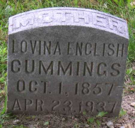 CUMMINGS, LOVINA ENGLISH - Linn County, Iowa | LOVINA ENGLISH CUMMINGS