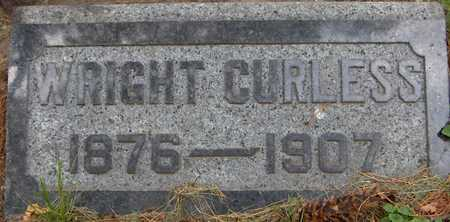 CURLESS, WRIGHT - Linn County, Iowa | WRIGHT CURLESS