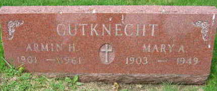 CUTKNECHT, MARY A. - Linn County, Iowa | MARY A. CUTKNECHT