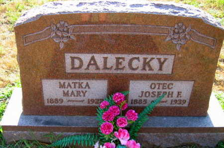 DALECKY, MARY - Linn County, Iowa | MARY DALECKY