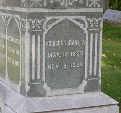 DANIELS, ADDISON L. - Linn County, Iowa   ADDISON L. DANIELS