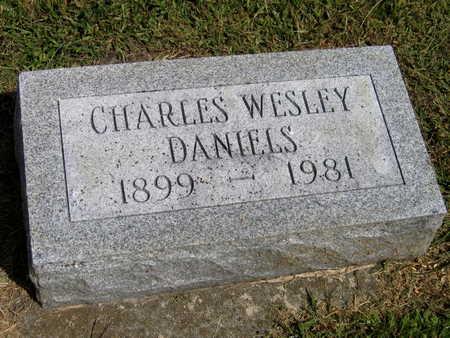 DANIELS, CHARLES WESLEY - Linn County, Iowa | CHARLES WESLEY DANIELS