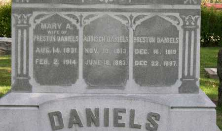 DANIELS, ADDISON - Linn County, Iowa | ADDISON DANIELS