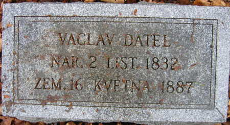 DATEL, VACLAV - Linn County, Iowa | VACLAV DATEL