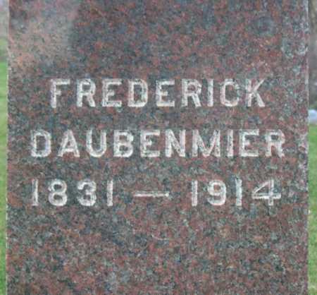 DAUBENMIER, FREDERICK - Linn County, Iowa | FREDERICK DAUBENMIER