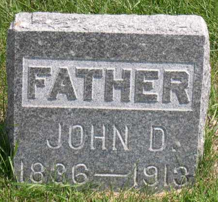 DAVIDSON, JOHN D. - Linn County, Iowa | JOHN D. DAVIDSON