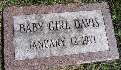 DAVIS, BABY GIRL - Linn County, Iowa | BABY GIRL DAVIS