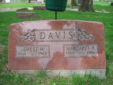 DAVIS, MARGARENT R. - Linn County, Iowa | MARGARENT R. DAVIS