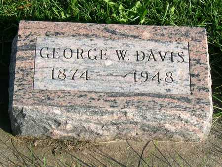 DAVIS, GEORGE W. - Linn County, Iowa | GEORGE W. DAVIS