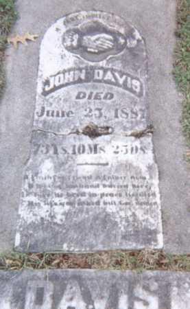 DAVIS, JOHN - Linn County, Iowa   JOHN DAVIS