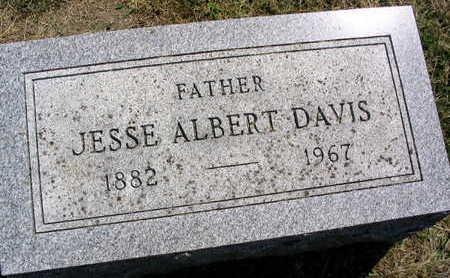 DAVIS, JESSE ALBERT - Linn County, Iowa | JESSE ALBERT DAVIS