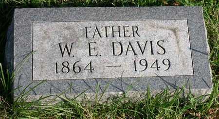 DAVIS, W. E. - Linn County, Iowa | W. E. DAVIS