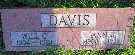 DAVIS, WILL C. - Linn County, Iowa | WILL C. DAVIS