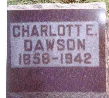 DAWSON, CHARLOTTE E. - Linn County, Iowa | CHARLOTTE E. DAWSON