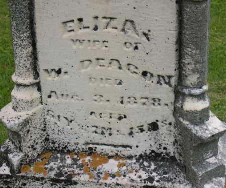 DEACON, ELIZA - Linn County, Iowa | ELIZA DEACON