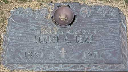 DEAN, LOUISE A - Linn County, Iowa | LOUISE A DEAN