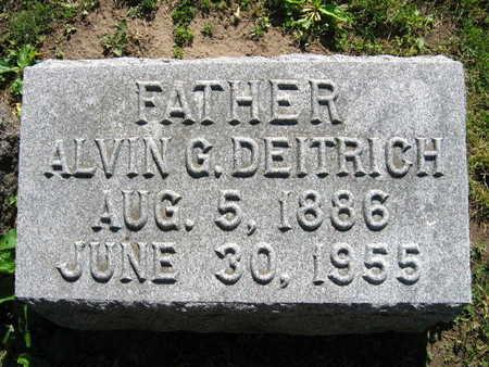 DEITRICH, ALVIN G. - Linn County, Iowa | ALVIN G. DEITRICH